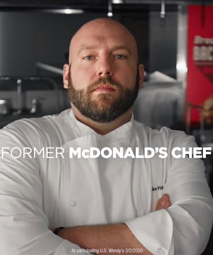 Former McDonald's Chef